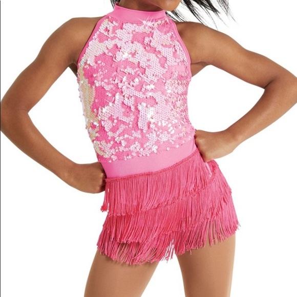Ultra sparkl girl dance dress